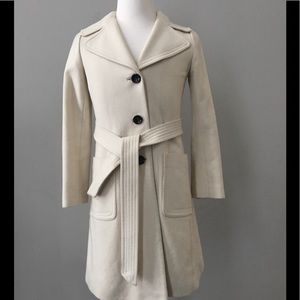 Banana Republic long wool coat